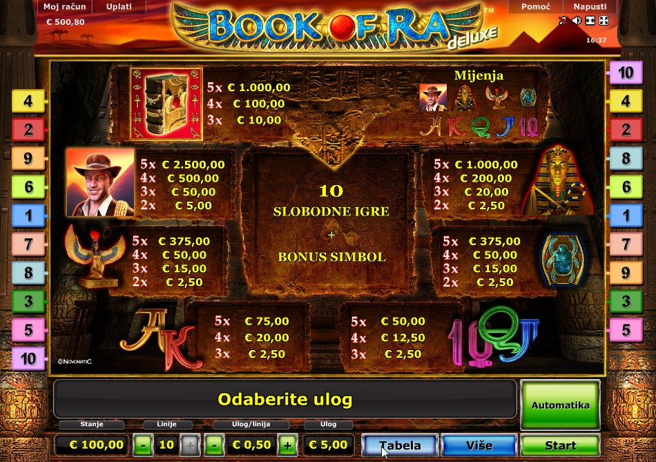 online casino book of ra american pocker